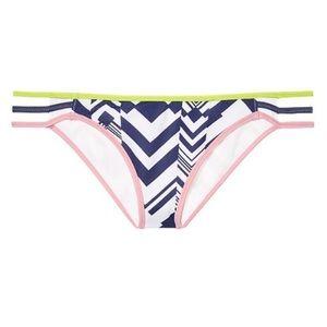Victorias Secret Bikini Bottom Ink Blot Geo L